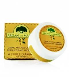 ARGAN CREAM ANTI-AGE 100 ML. ARGAN DU MAROC. 100% NATURAL